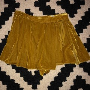 Skirt with built in shorts from free people